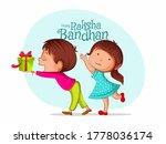illustration of rakhi brother...   Shutterstock .eps vector #1778036174