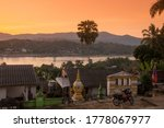 The View Of The Mekong River A...