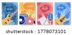 retro music equipment flyer ... | Shutterstock .eps vector #1778073101
