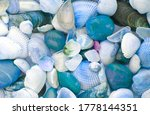 background with seashells and... | Shutterstock . vector #1778144351
