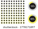 yellow colorset of percentage 1 ...