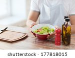 cooking and home concept  ... | Shutterstock . vector #177818015
