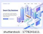 smart city solutions banner....   Shutterstock .eps vector #1778241611