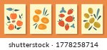 abstract still life in pastel... | Shutterstock .eps vector #1778258714