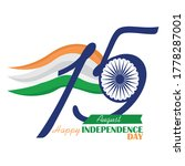 independence day of india. flag ... | Shutterstock .eps vector #1778287001