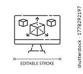 modeling pixel perfect linear...   Shutterstock .eps vector #1778292197