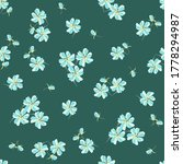 simple vector floral seamless... | Shutterstock .eps vector #1778294987