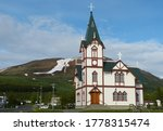 The Husavik church was built in the Swiss chalet-style in 1907, looks nothing like any other church in Iceland. It is the original masterpiece of Rognvaldur Olafsson. Husavik Whale Capital of Iceland.