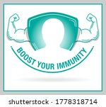immunity builder unit with... | Shutterstock .eps vector #1778318714