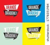 modern design grande braderie...   Shutterstock .eps vector #1778351984