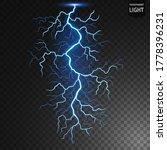 blue lightning flash bolt ...   Shutterstock .eps vector #1778396231