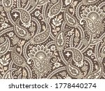 seamless vintage asian paisley... | Shutterstock .eps vector #1778440274