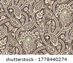 seamless vintage asian paisley... | Shutterstock .eps vector #1778440274