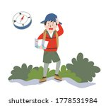 anxious young man looking at a... | Shutterstock .eps vector #1778531984