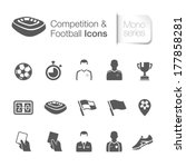 competition   football related... | Shutterstock .eps vector #177858281