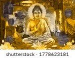 3d  Illustration   Buddha...