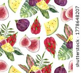 seamless pattern with...   Shutterstock . vector #1778648207