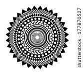 Monochrome Mandala