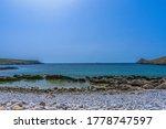 A Beautiful Small Rocky Beach...