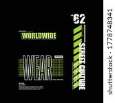 worldwide street culture...   Shutterstock .eps vector #1778748341