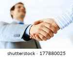 close up image of business... | Shutterstock . vector #177880025