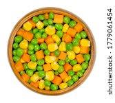 Green Peas  Corn And Carrot...