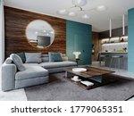Contemporary Living Room Studi...
