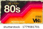 my playlist. 80's awesome super ...   Shutterstock .eps vector #1779081701