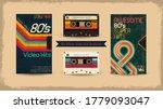 vhs tape. vector beta tape ... | Shutterstock .eps vector #1779093047