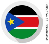 flag of south sudan  round... | Shutterstock .eps vector #1779137384