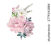 bouquet of flowers  can be used ... | Shutterstock . vector #1779141884