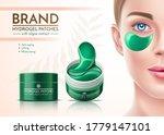 vector girl face with eye... | Shutterstock .eps vector #1779147101