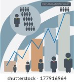 organization chart infographics ...   Shutterstock .eps vector #177916964