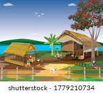 sufficiency life of people at... | Shutterstock .eps vector #1779210734