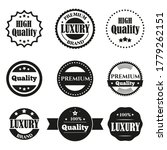 vector vintage set of premium... | Shutterstock .eps vector #1779262151