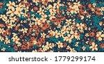 floral fashion print design for ... | Shutterstock .eps vector #1779299174