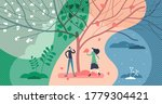four seasons collection set... | Shutterstock .eps vector #1779304421