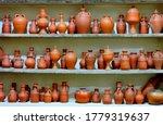 Ceramic Clay Terracotta Jug ...