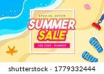 summer sale vector illustration.... | Shutterstock .eps vector #1779332444