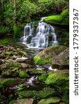 Small photo of The beautiful Elakala Falls in Blackwater Falls State Park, Tucker County West Virginia