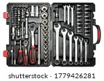 Toolbox Set Of Wrenches  Car...