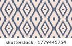 ikat geometric folklore... | Shutterstock .eps vector #1779445754