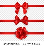 gift bows with ribbons.... | Shutterstock .eps vector #1779455111