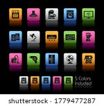 home appliances icons   ...   Shutterstock .eps vector #1779477287