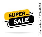 label template super sale shop... | Shutterstock .eps vector #1779490034