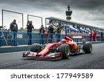 jerez  spain   january 31  kimi ... | Shutterstock . vector #177949589