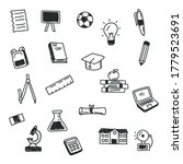 school and education related... | Shutterstock .eps vector #1779523691