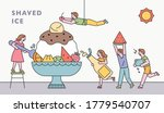 small and cute people are... | Shutterstock .eps vector #1779540707