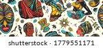 africa seamless pattern.... | Shutterstock .eps vector #1779551171