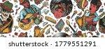 multicultural musical pattern.... | Shutterstock .eps vector #1779551291